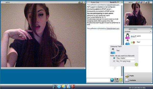 PPV Videochat Cams Script